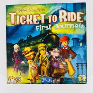 Ticket To Ride First Journey Family Board Game EUC